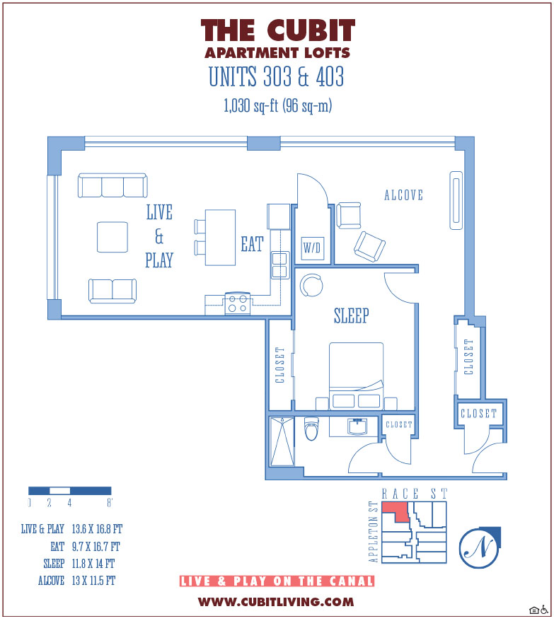 Floor Plans Lofts available